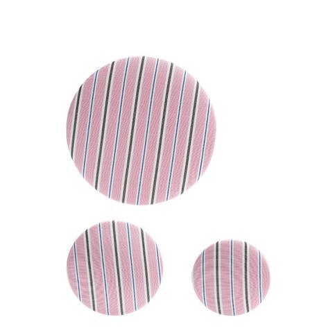 Set of 3 Striped Earrings