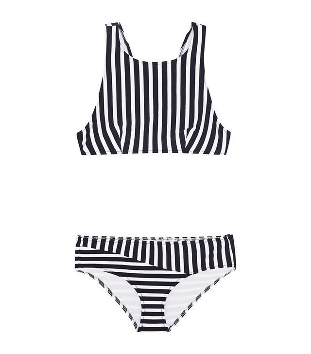 Araks Joy Millie Racer-Back Striped Bikini