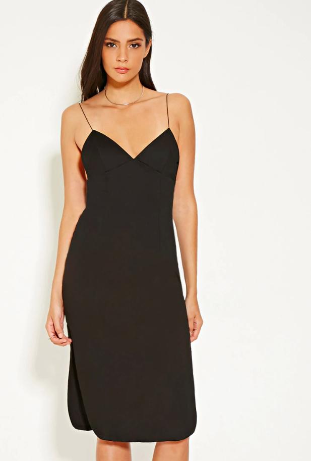 Forever 21 MLM Cami Side Slit Dress
