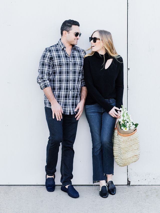 Everyone knows that Sunday is a dedicated errand day, and Kim and Blake like to kick it off by heading to the farmers market to stock up on fresh food and flowers for the week. While Kim admits to...