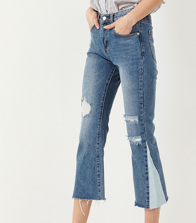 Storets Zena Side Color Match Jeans