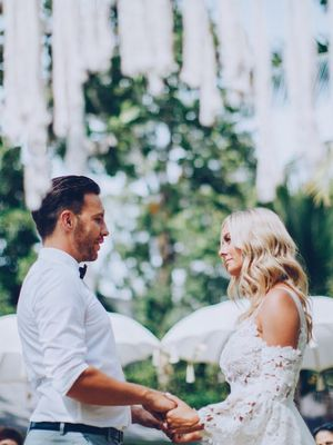 Inside This Australian Fashion CEO's Gatsby-Inspired Bali Wedding