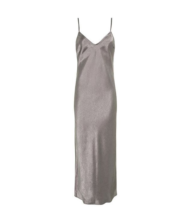 Topshop Limited Edition Satin Slip Dress