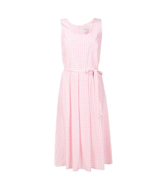 Harley Viera Newton Gingham Check Pleated Dress