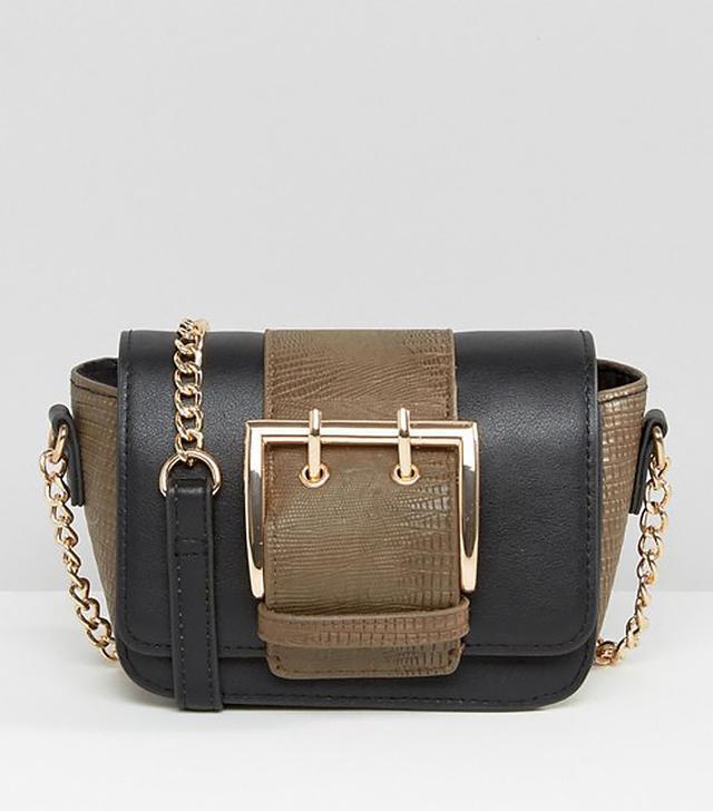 ASOS Mini Buckle Cross Body Bag