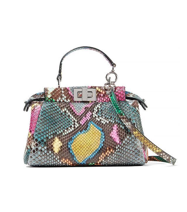 Fendi Peekaboo Micro Python Bag