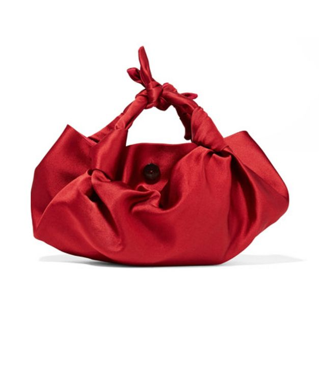 The Row satin handbag