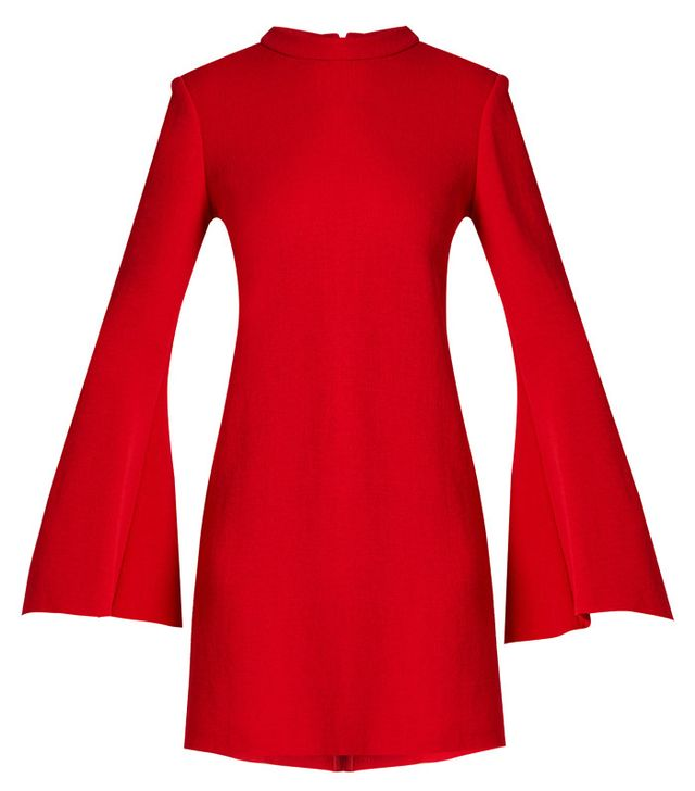 Ellery Duckie Flared-Sleeve Mini Dress