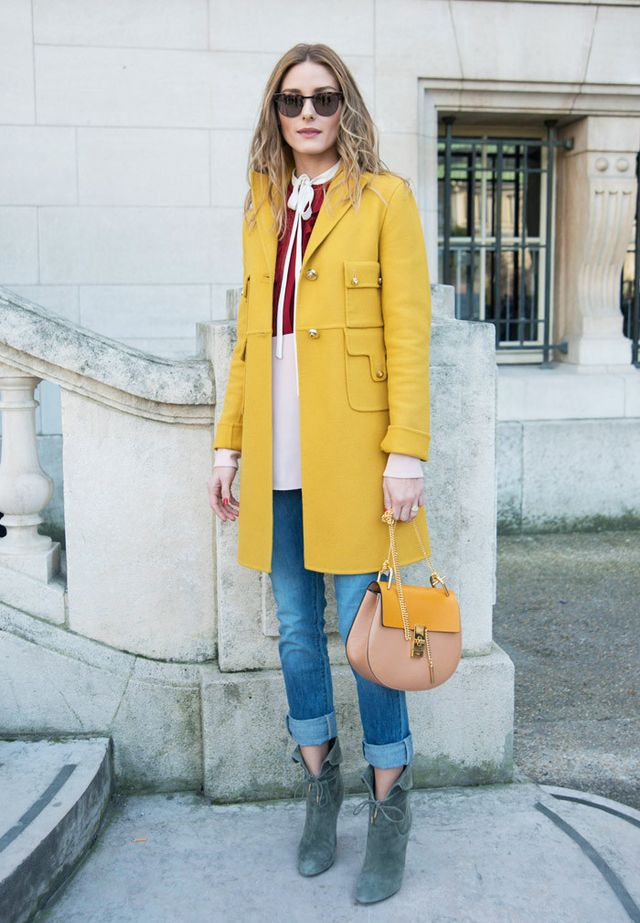 Best Chloe bags: Olivia Palermo with the Chloe Drew