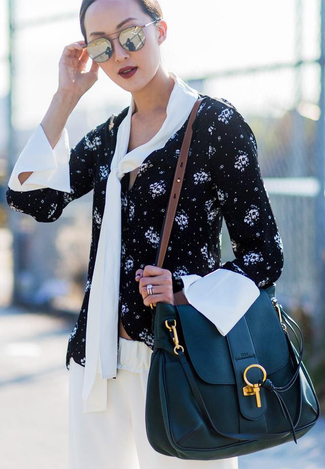 Best Chloe bag: Chriselle Lim with the Chloe Lexa bag