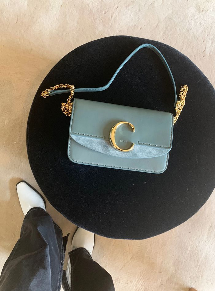 Best Chloe bags: C Chloe bag in blue