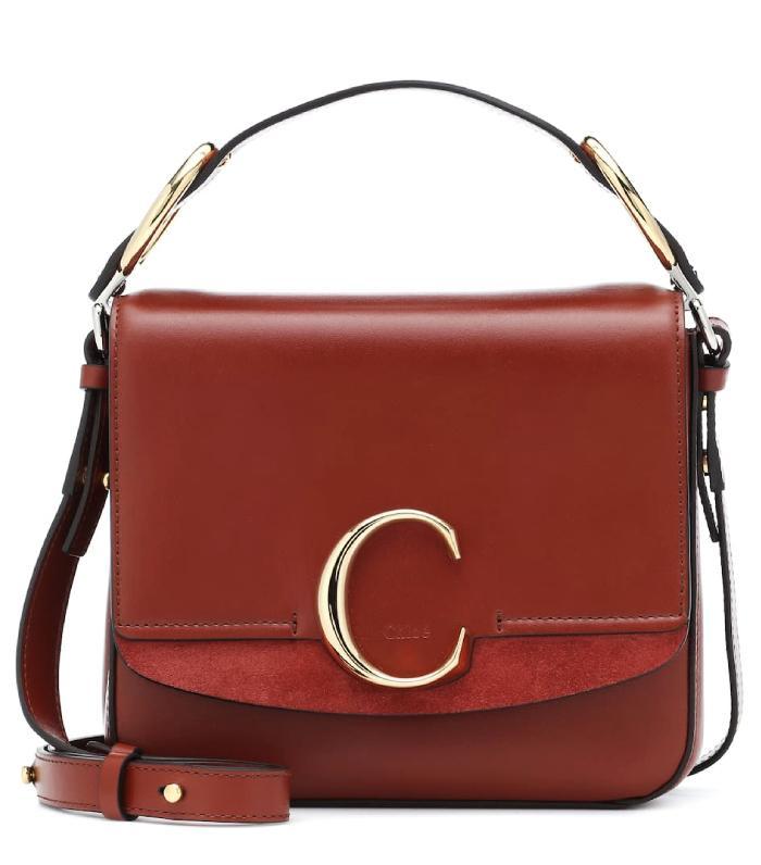 Chloé Chloé C Small Leather Shoulder Bag
