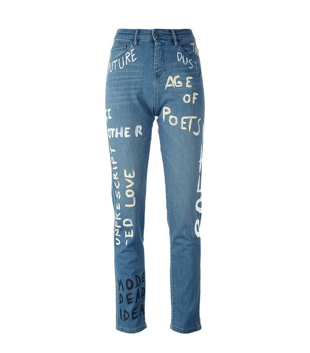 Each x Other Painted Straight Leg Jeans