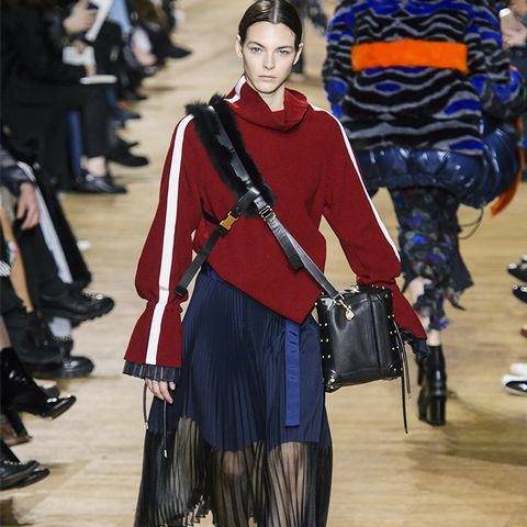 Autumn Winter 2017 Fashion Trends: Supersize Sweaters and Sweet Skirts