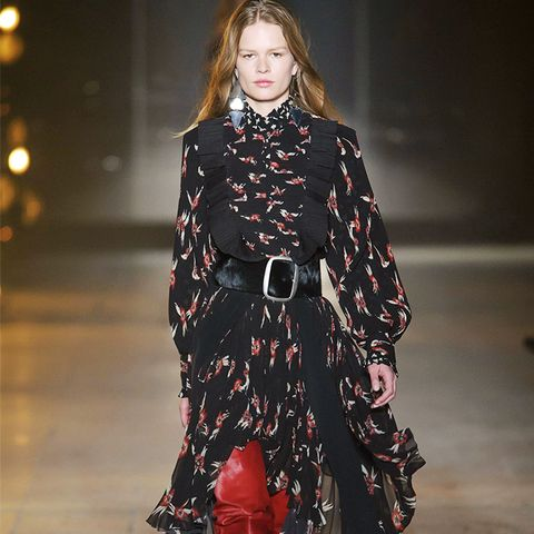 Autumn Winter 2017 Fashion Trends: Thigh-High Boots and Hemlines