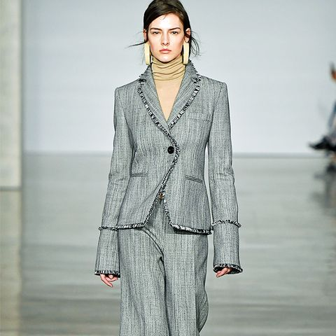 Autumn Winter 2017 Fashion Trends: Grey Suit