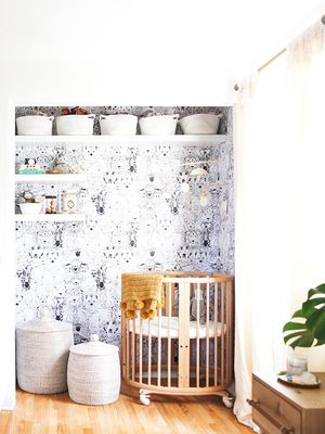 This Sweet Nursery Nook Was Carved Out of the Most Unexpected Space