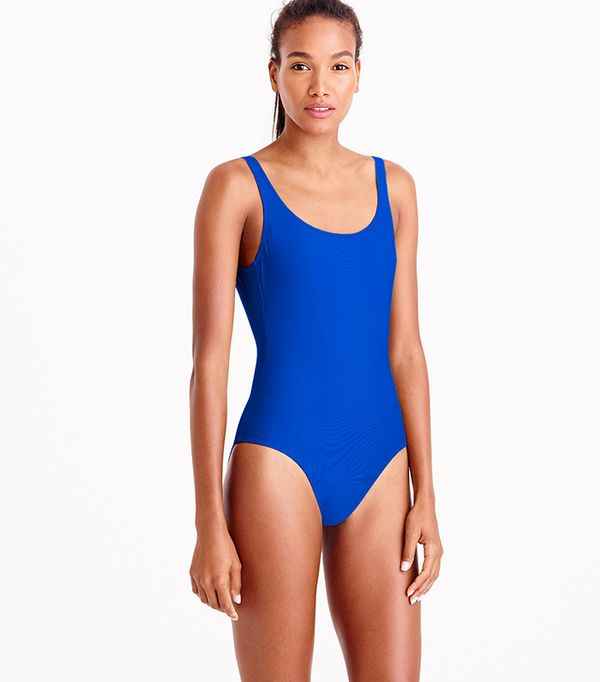 J.Crew Scoopback One-Piece Swimsuit