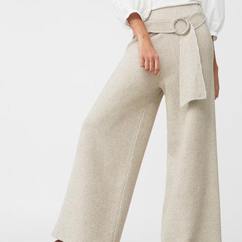 Linen Palazzo Trousers