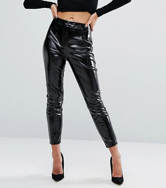ASOS New Look High Shine Patent Pants