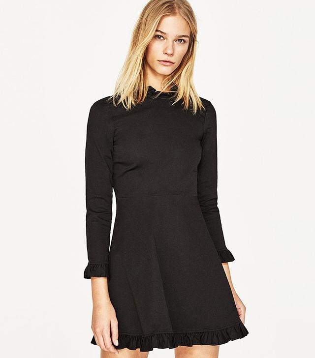 Zara Mini Dress with Frills