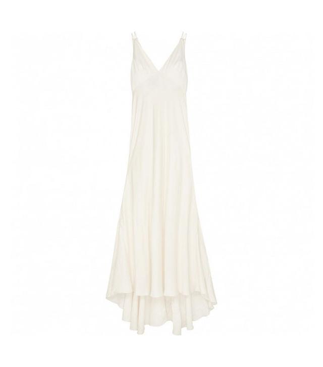 ASOS Bridal Cami Paneled Fishtail Maxi Dress