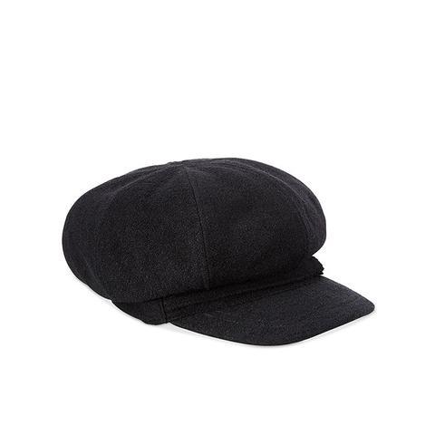 Bouclé Newsboy Cap