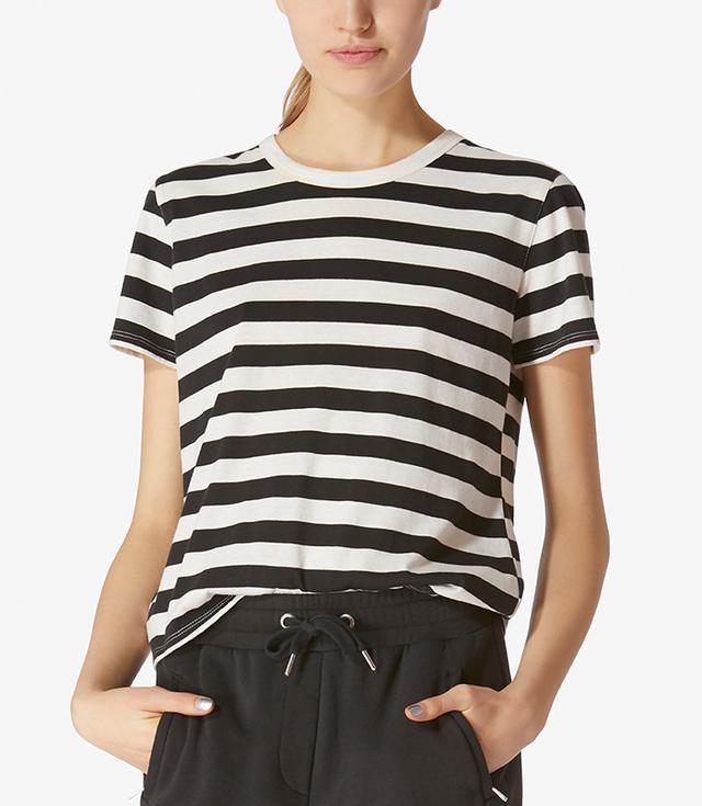 Avec Les Filles Cotton Layering T-Shirt