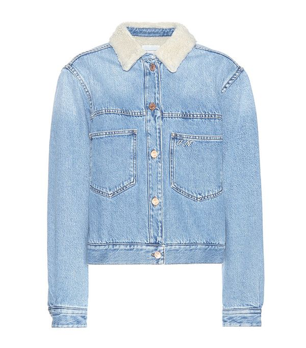 Étoile Isabel Marant Camden Embroidered Denim Jacket