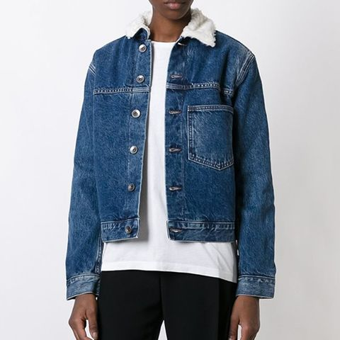 Chest Pocket Denim Jacket