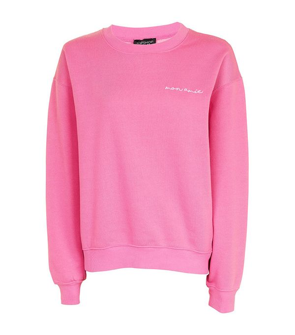 Topshop Je Suis Sweatshirt