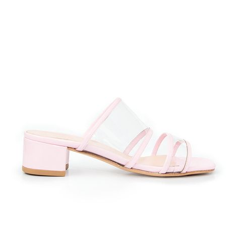 Martina Slide in Bubblegum Pink Patent