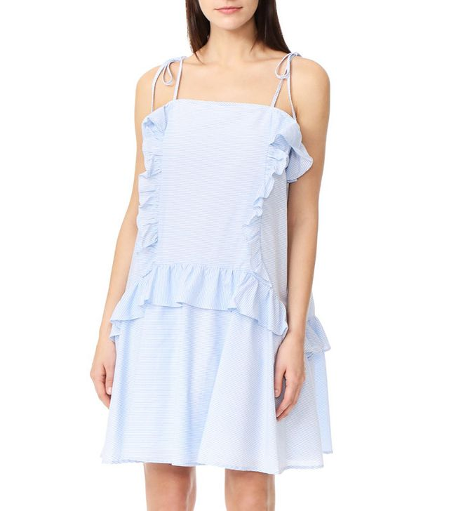 Moon River Ruffle Dress