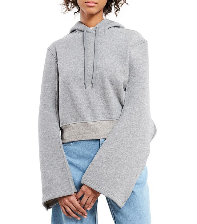 Y/Project Big Sleeve Hooded Pin Sweatshirt