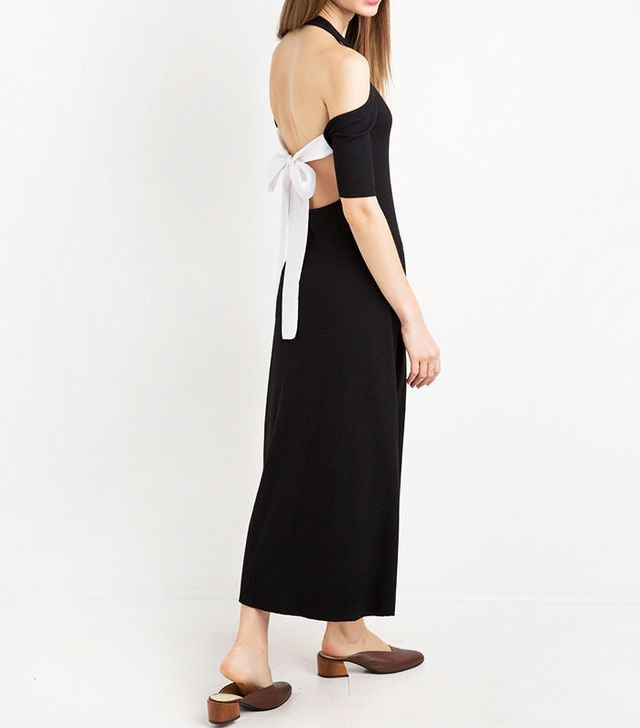 Pixie Market Sunday Tie Back Midi Dress by New Revival