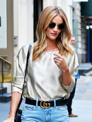Rosie Huntington-Whiteley Is Making Us Want This £30 Zara Bag