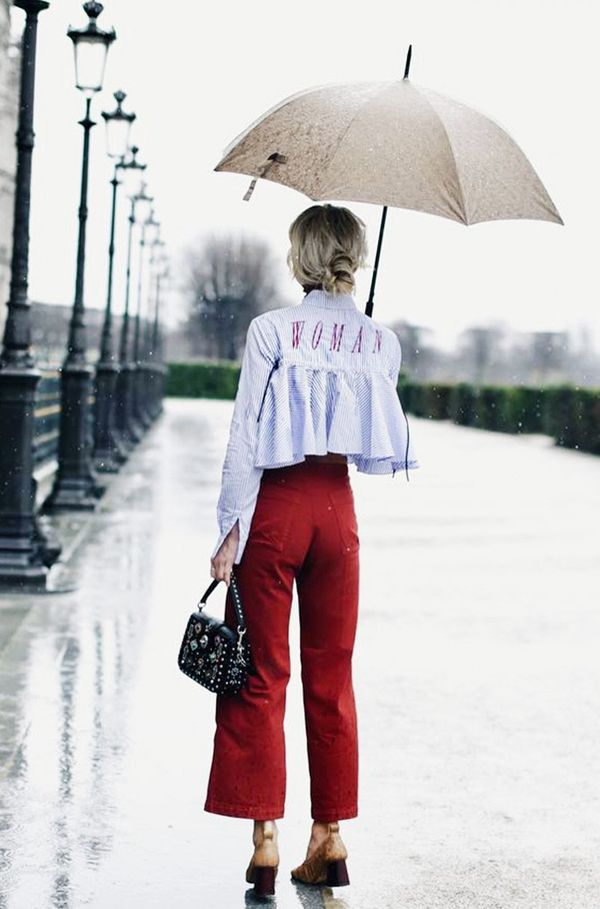 Denim Trends 2017: Red Pearl jeans