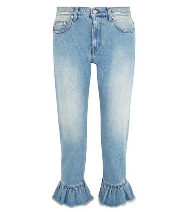 Denim Trends 2017: Frill hem jeans MSGM