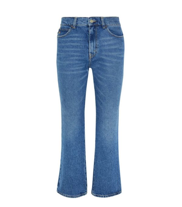Denim Trends 2017: Attico cropped flares