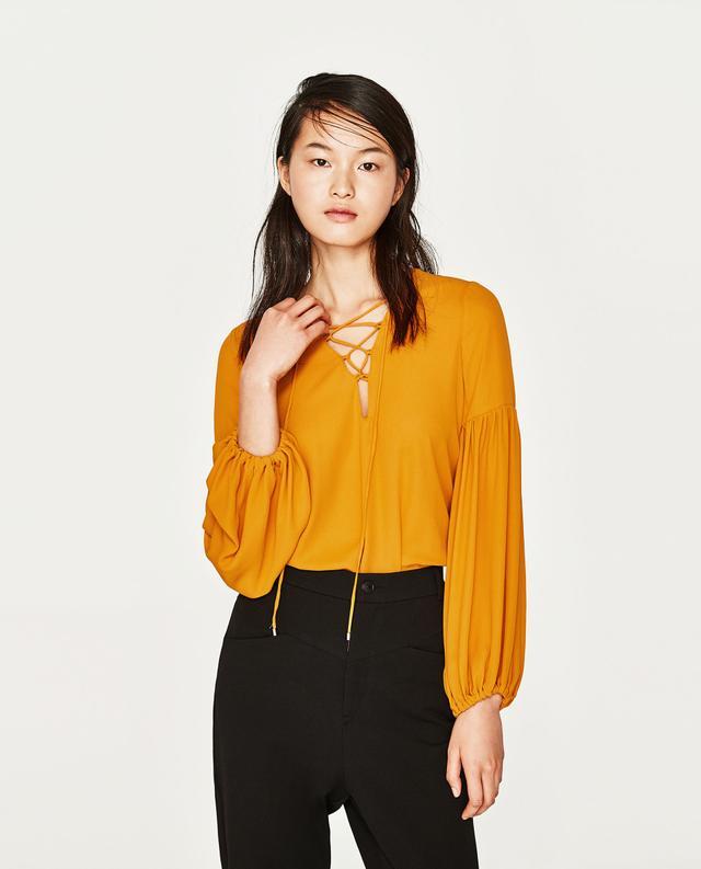 Zara Bodysuit With Cords