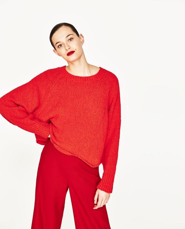 Zara Wavy Sweater