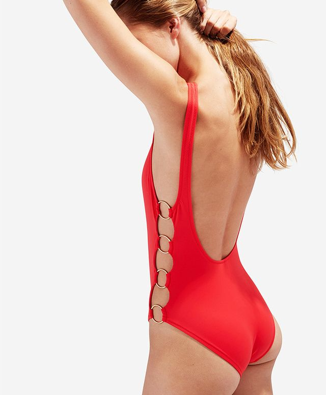 Solid & Striped Solid & Striped The Jennifer Swimsuit in Red