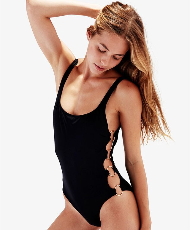 Solid & Striped The Jennifer Swimsuit in Black