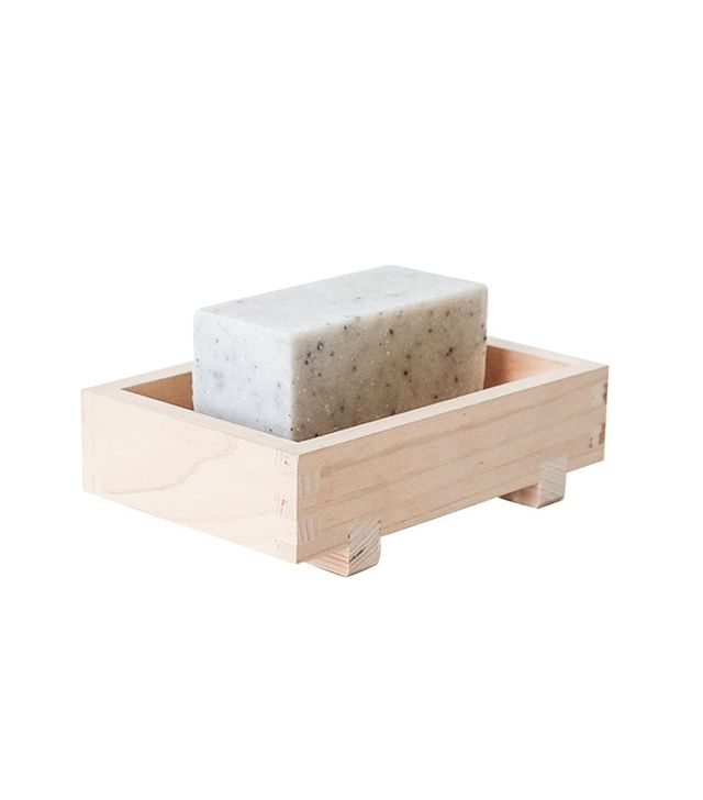 Spartan Shop Hinoki Wood Soap Dish