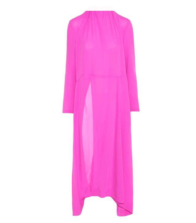 Balenciaga pink dress
