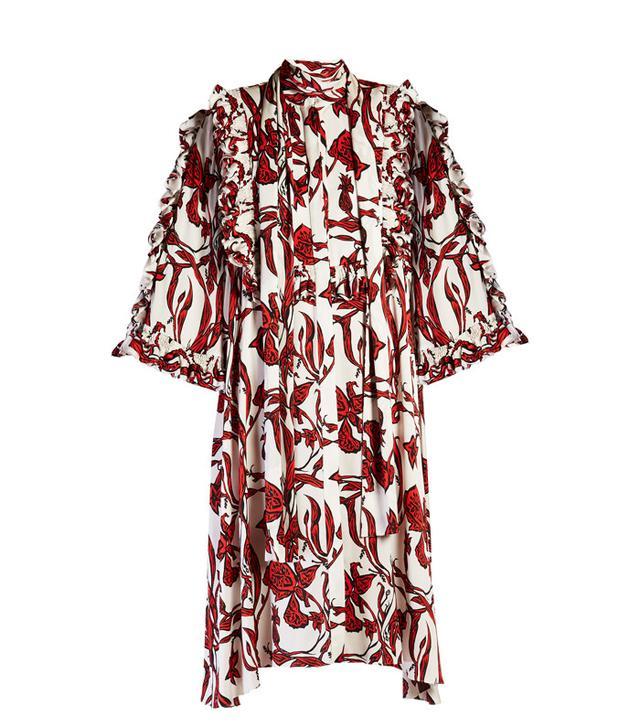 red Ellery dress
