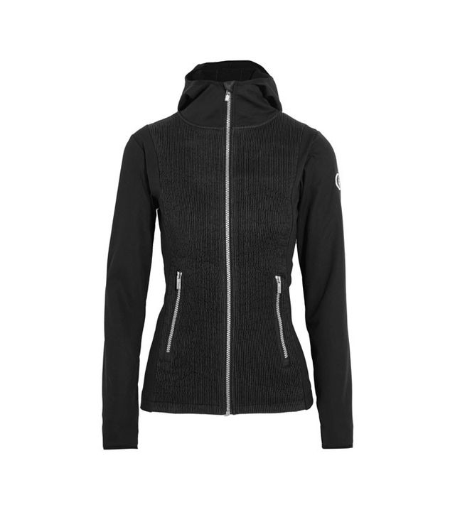 Fulsap Mures Stretch-Jersey and Quilted Satin Jacket