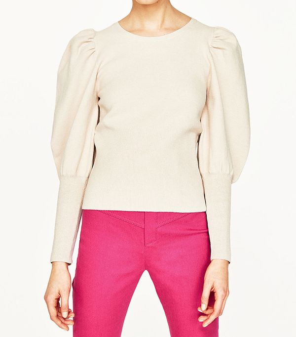 Zara Sweater With Full Sleeves