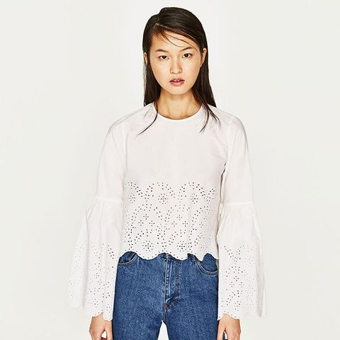 Top With Tied Detail