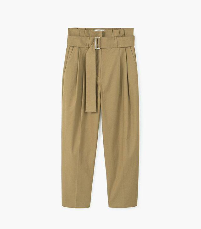 Mango High-Waist Trousers
